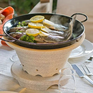 Frying whole fish with lemon in Cosy Roast®