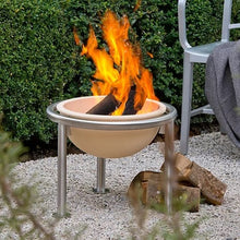 Load image into Gallery viewer, Feuerfreund Ceramic 49cm Fire Pit on stand