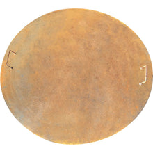 Load image into Gallery viewer, Fire Pit Lid with handles Rust Steel 125cm diameter