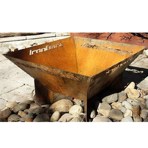 Pyramid Fire Pit 600mm Square x 600mm High