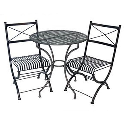 Rye 3 piece setting in hammered charcoal colour
