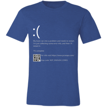 Load image into Gallery viewer, Blue Screen of Death Error Shirt