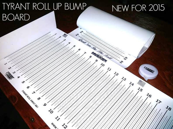 Tyrant Tackle Roll Up Bump Board