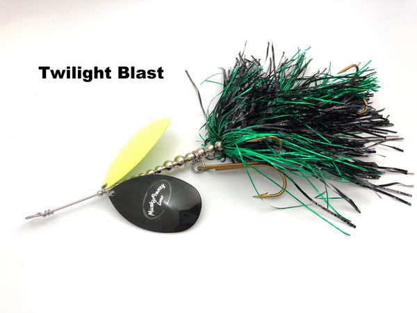 Musky Frenzy Lures 10/12 Stagger Blade