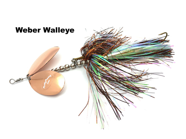 Musky Frenzy Lures 9/10 Stagger Blade