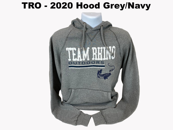 Team Rhino Outdoors - 2020 Show Hoodie Gunmetal/Navy Blue