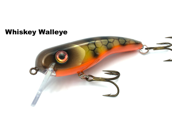 Llungen Lures .22 Short SS - Whiskey Walleye