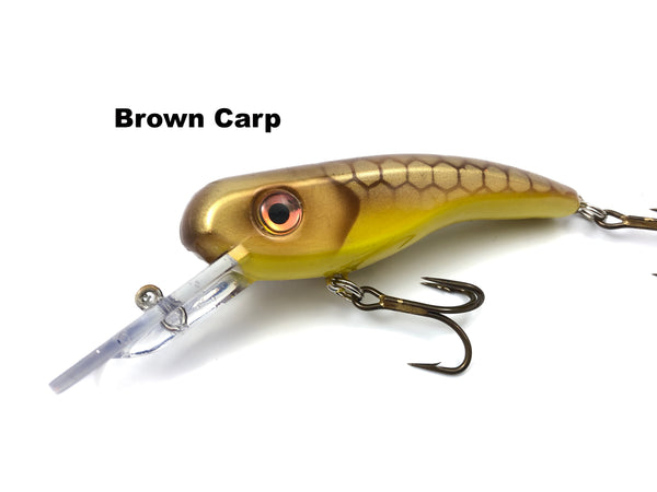 Llungen Lures .22 Short - Brown Carp