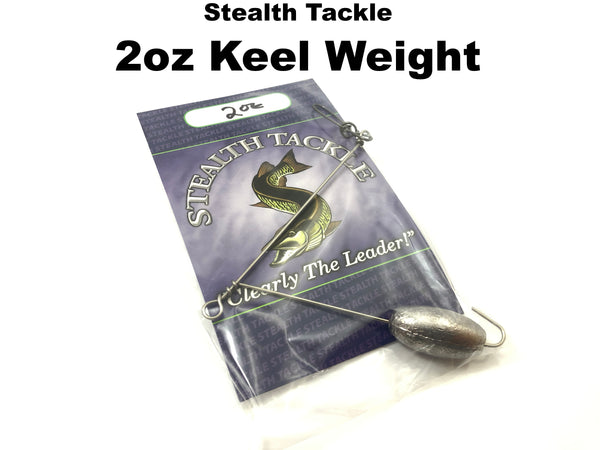Stealth Tackle - 2oz Trolling Keel Weight (KW2)