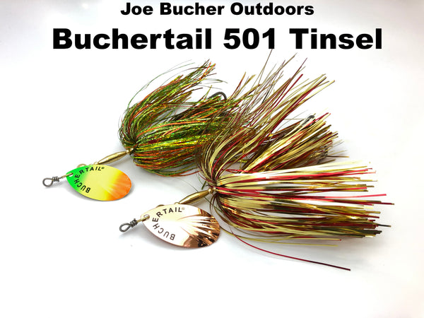 Joe Bucher Outdoors Buchertail 501 Tinsel