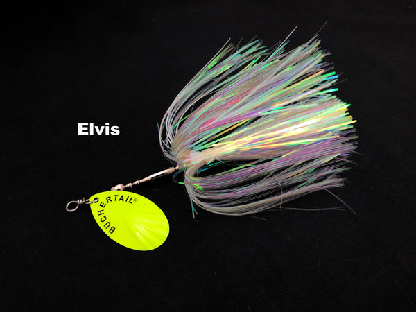 Joe Bucher Outdoors Buchertail 701 Tinsel - Elvis