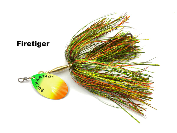 Joe Bucher Outdoors Buchertail 701 Tinsel - Firetiger