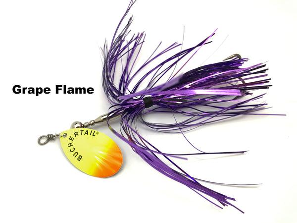 Joe Bucher Outdoors Buchertail 701 Tinsel - Grape Flame