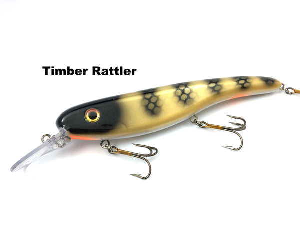 Llungen Lures .50 Cal - Timber Rattler