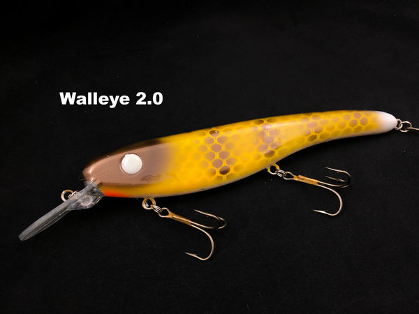 Llungen Lures .50 Cal - Walleye 2.0