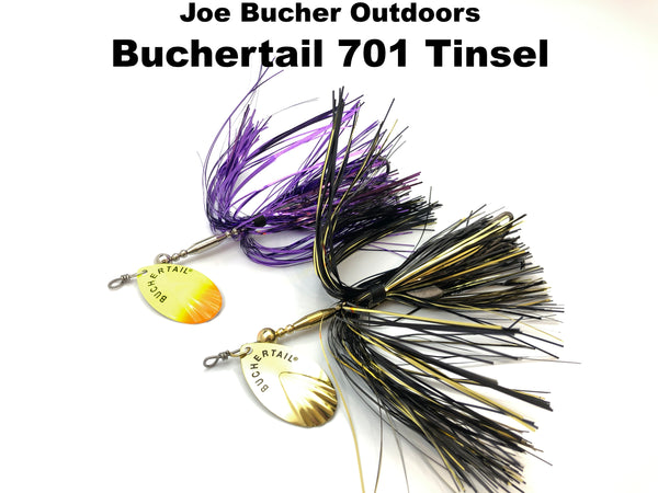 Joe Bucher Outdoors Buchertail 701 Tinsel