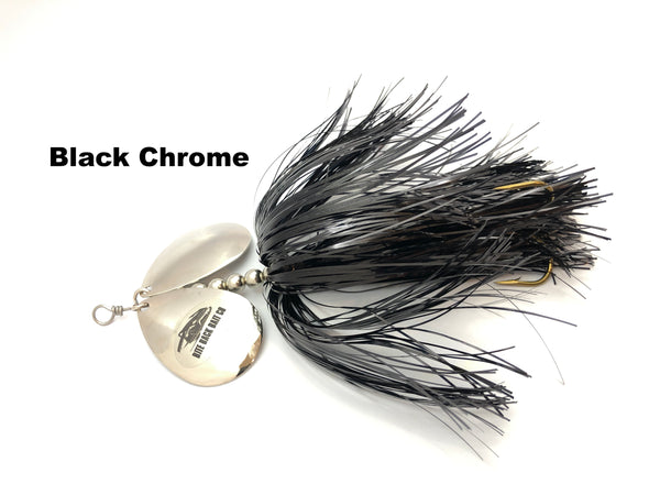 Bite Back Bait Company Mag Double 8's  - Black Chrome