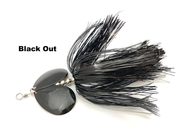 Bite Back Bait Company Mag Double 8's  - Black Out