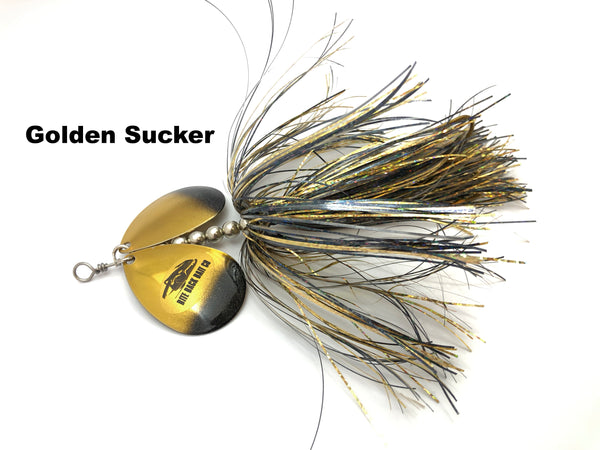 Bite Back Bait Company Mag Double 8's  - Golden Sucker