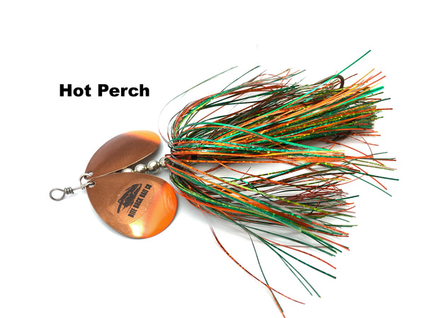 Bite Back Bait Company Mag Double 8's  - Hot Perch
