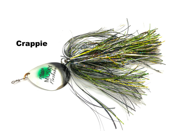 Mepps Musky Flashabou Baitfish Series Single Blade - Crappie