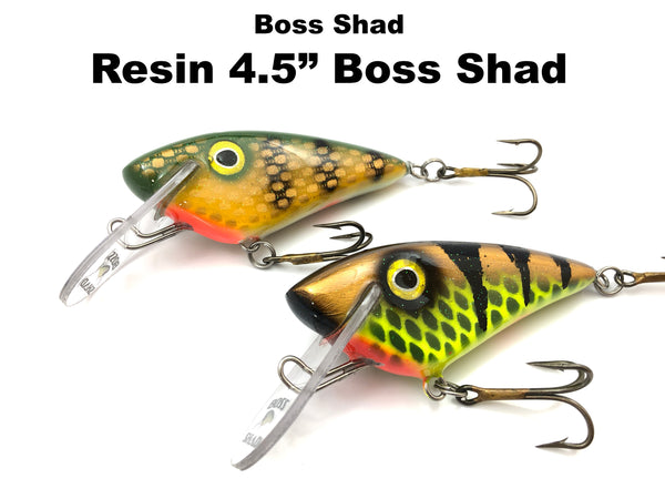 "Boss Shad Resin 4.5"" Boss Shad"