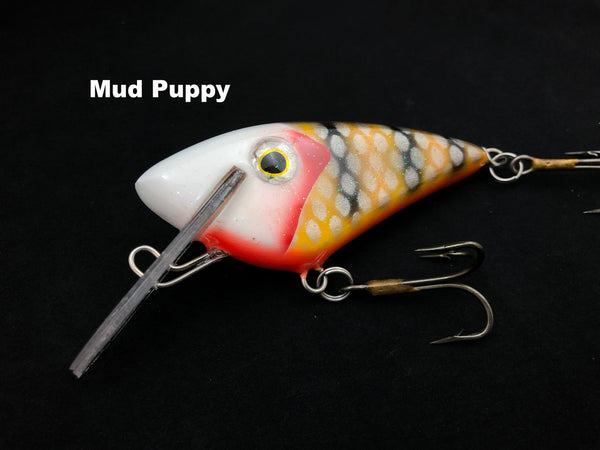 "Boss Shad Resin 4.5"" Boss Shad - Mud Puppy"