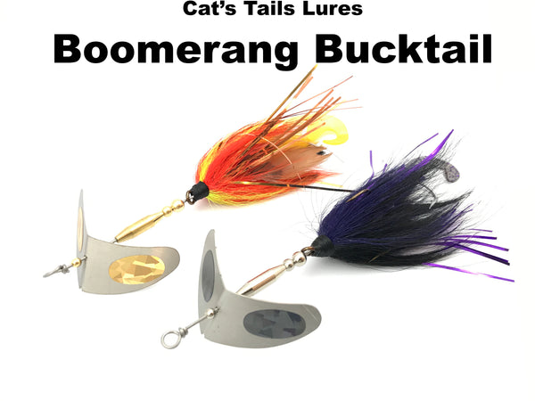 Cat's Tails Tackle Boomerang Bucktails