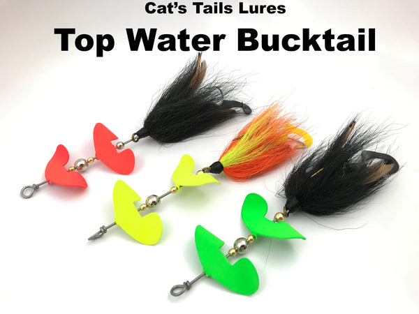 Cat's Tails Tackle Topwater Bucktail