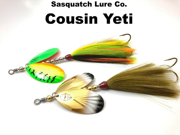 Sasquatch Lure Co. Cousin Yeti
