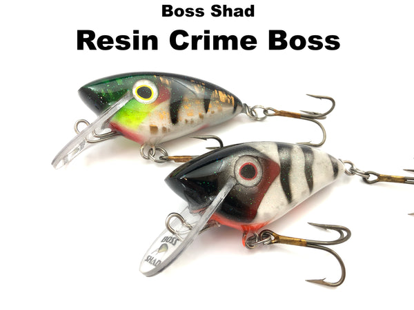 Boss Shad Resin Crime Boss