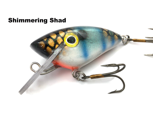 Boss Shad Resin Crime Boss - Shimmering Shad