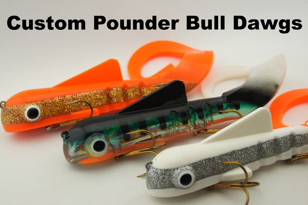 Musky Innovations - Pounder Bull Dawg (Super Mag)