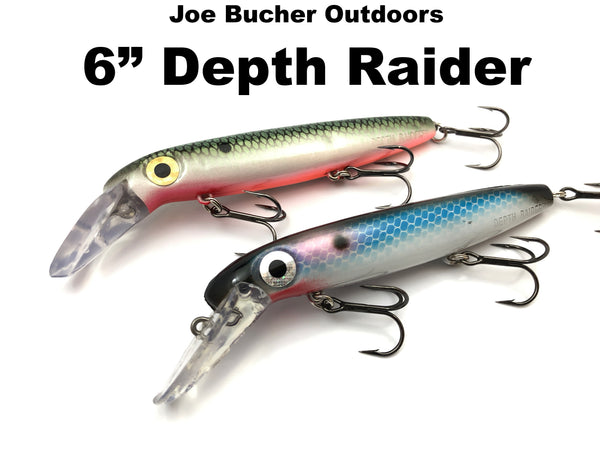 "Joe Bucher Outdoors 6"" Depth Raider"
