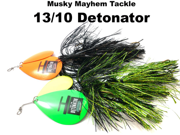 Musky Mayhem Tackle NEW 13/10 Detonator