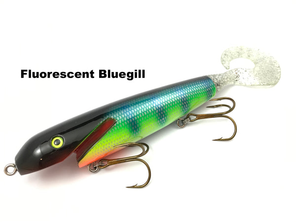 "Leo Lures 6"" Jerk Rubber Tail"