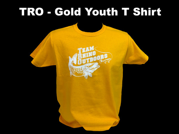 TRO - Gold Youth T Shirt