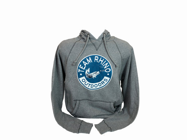 Team Rhino Outdoors - Gunmetal Circle Logo Hoodie 2021
