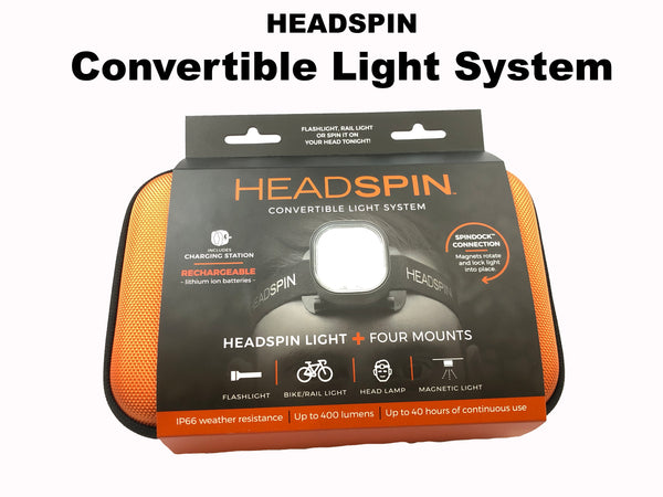 HEADSPIN Convertible Lighting System