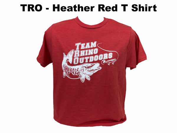 TRO - Heather Red Bi Blend T Shirt