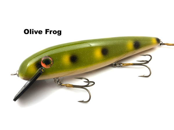 "Phantom Lures 10"" Hex - Olive Frog"