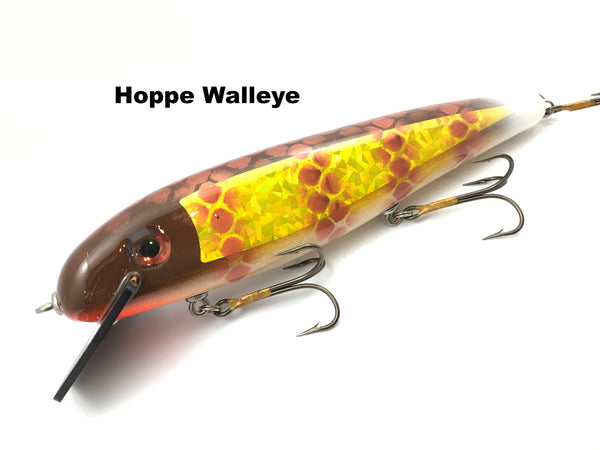 "Phantom Lures 10"" Hex - Hoppe Walleye"