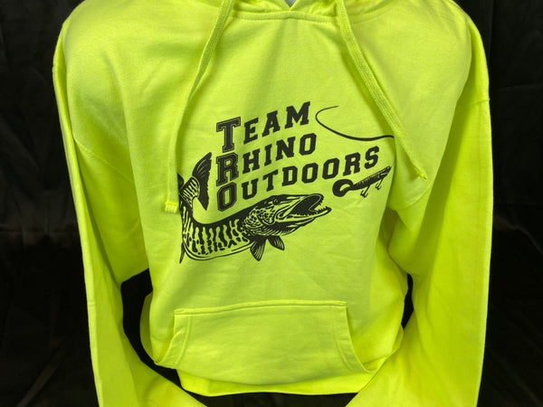 Team Rhino Outdoors - Hi Vis Hoodie