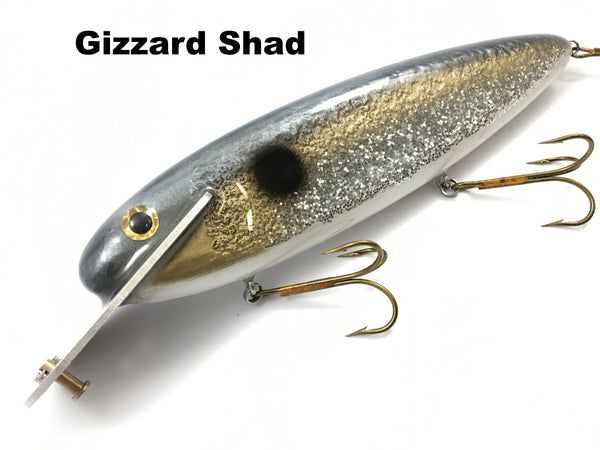 "Supernatural Big Baits 10"" Mattlock - Gizzard Shad"