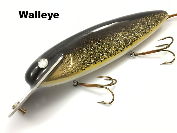 "Supernatural Big Baits 10"" Mattlock - Walleye"