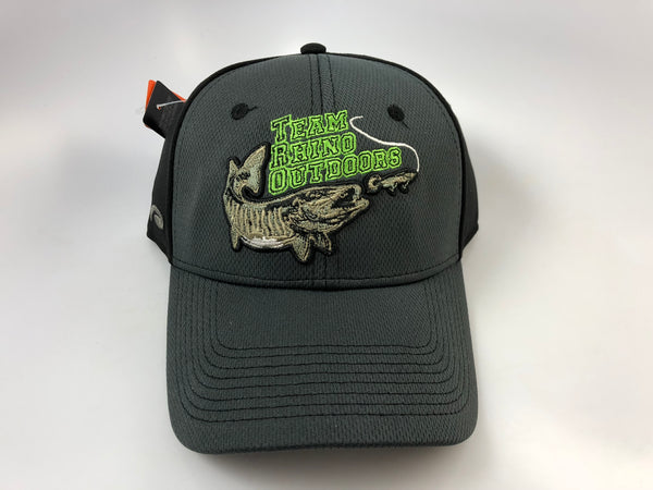 TRO Lime Green Raised Fish Adjustable Hat (3 Colors)