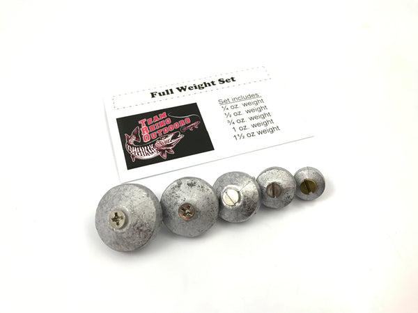 TRO - Full Set Screw in Weight Set