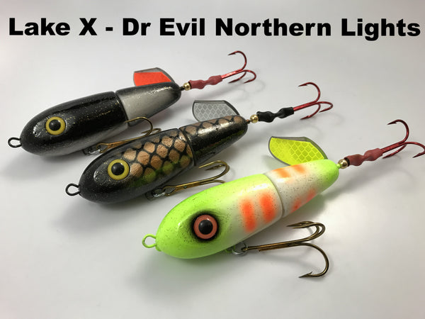 Lake X Lures Dr. Evil Northern Lights Series