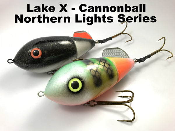 Lake X Lures Cannonball Northern Lights Series