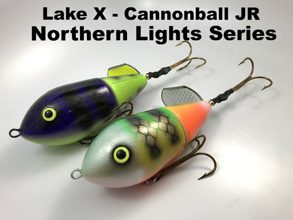 Lake X Lures Cannonball Jr Northern Lights Series
